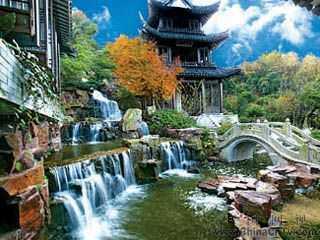 自然景点_北京百花山自然风景区景观